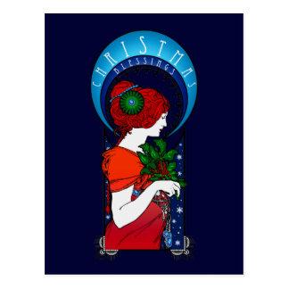 Christmas Blessings Postcard