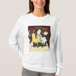 Christmas Blessings women's long-sleeved tee