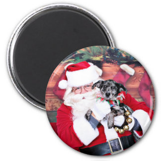 Christmas - Blue Heeler - B'Elana Magnet