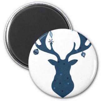 Christmas Boho Deer Head Magnet