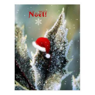 Christmas Bonnet! Postcard