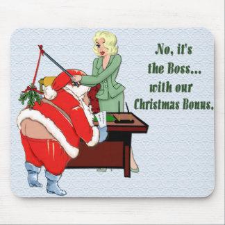 Christmas Bonus Mouse Pad
