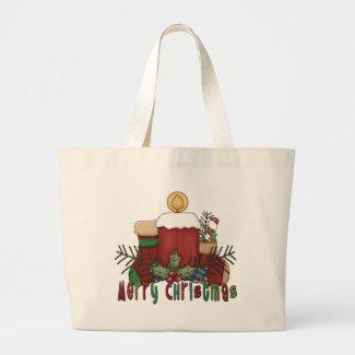 Christmas Boots bag