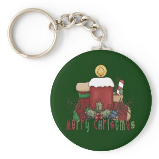 Christmas Boots keychain