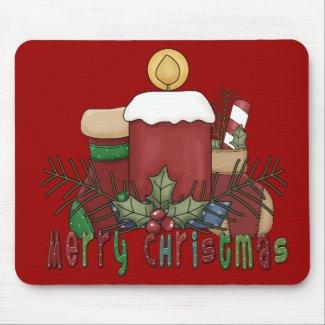 Christmas Boots mousepad