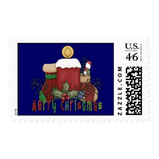 Christmas Boots stamp