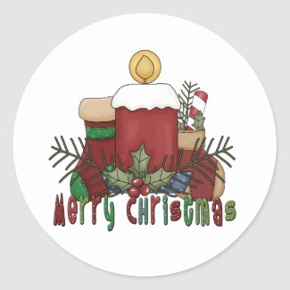 Christmas Boots sticker
