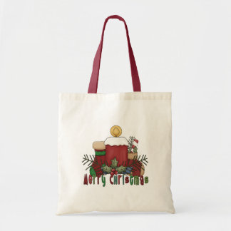 Christmas Boots Tote Bag