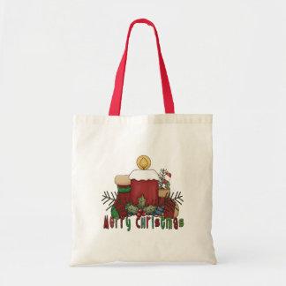 Christmas Boots Tote Bag