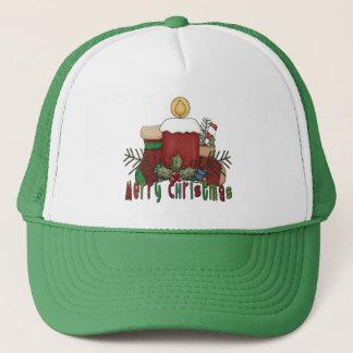 Christmas Boots Trucker Hat