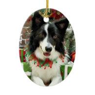 Christmas - Border Collie - Jessup Christmas Ornaments