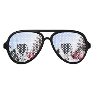 Christmas boston terrier dog party shades