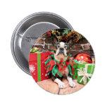 Christmas - Boston Terrier - Natty Pins