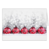 christmas boubles card