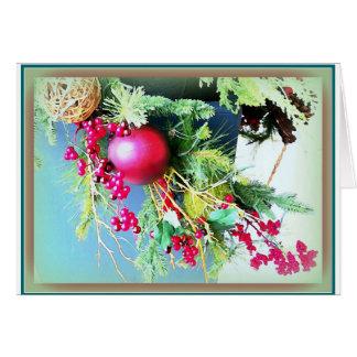 Christmas Bough Card