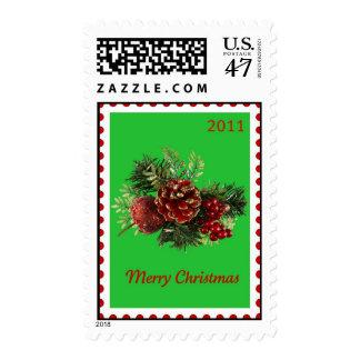 Christmas Bough Stamp
