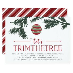 Tree Trimming Party Invitations | Zazzle