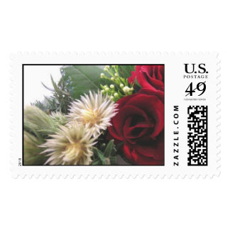 Christmas Bouquet Stamps