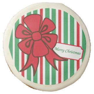 Christmas Bow Cookies Sugar Cookie