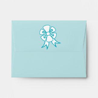 Christmas Bow Envelopes