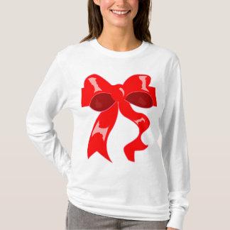 Christmas bow hoodie
