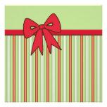 Christmas Bow Invitations