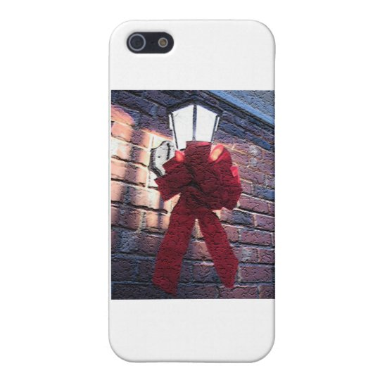 Christmas Bow Lantern iPhone SE/5/5s Case
