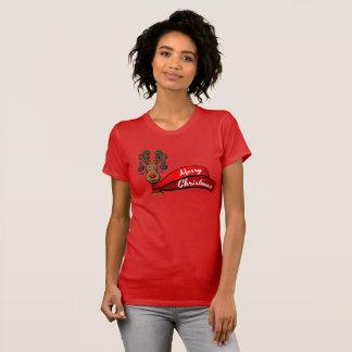 Christmas Bowling Reindeer T-Shirt