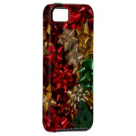 Christmas Bows Colorful Festive Holiday iPhone SE/5/5s Case