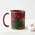 Christmas Bows Colorful Festive Holiday Mug
