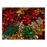 Christmas Bows Colorful Festive Holiday Photo Print