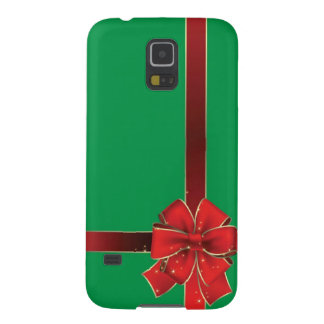 Christmas Bows Green Case For Galaxy S5