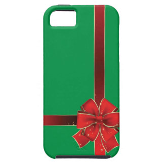 Christmas Bows Green iPhone SE/5/5s Case