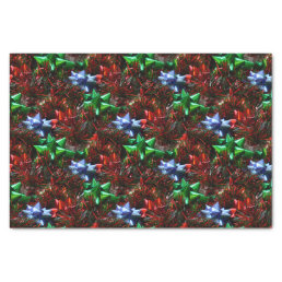 Christmas Bows Tissue Paper