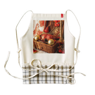 Christmas box - Christmas decorations Zazzle HEART Apron