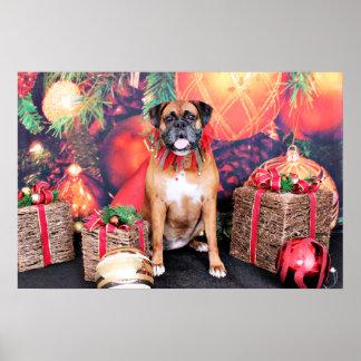 Christmas - Boxer - Ava Print