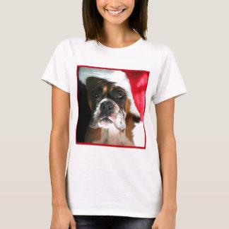 Christmas Boxer Dog T-Shirt