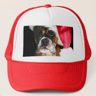 Christmas Boxer Dog Trucker Hat