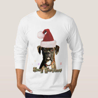 Christmas boxer mens shirt