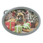 Christmas - Boxer - Vinny Belt Buckles