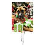 Christmas - Boxer - Vinny Cake Topper
