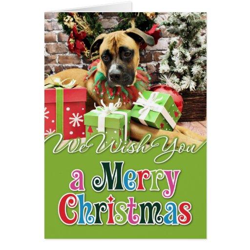 Christmas - Boxer - Vinny Cards