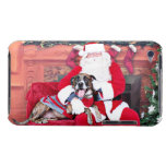 Christmas - BoxerPitbull X - Bruno Case-Mate iPod Touch Case