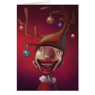 Christmas boy card