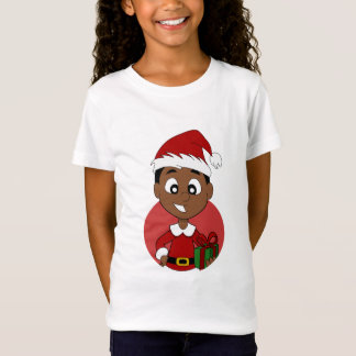 Christmas boy cartoon T-Shirt