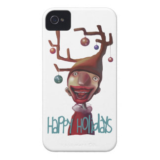 Christmas boy iPhone 4 Case-Mate cases