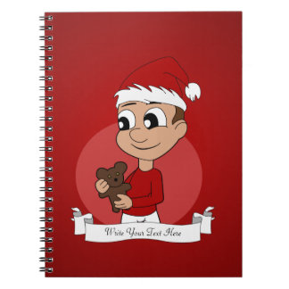 Christmas-boy-head-07.png Notebook
