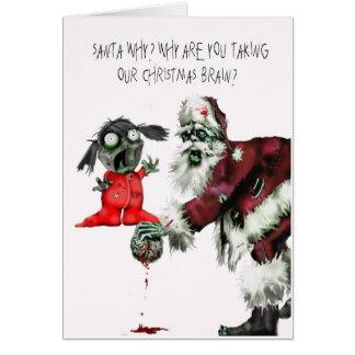 Christmas Brain Card