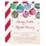 Christmas Bridal Shower Invitations at Zazzle