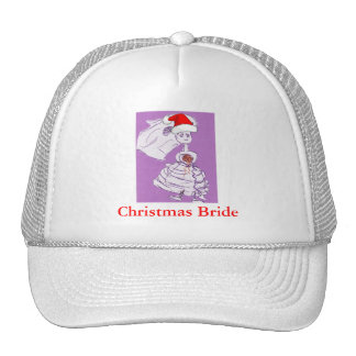 Christmas Bride Hats